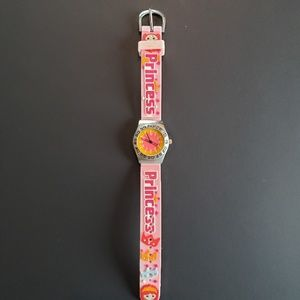 3 / $20 Pink PRINCESS Watch with Second Hand
